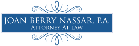 Law Office of Joan Berry Nassar, P.A. logo